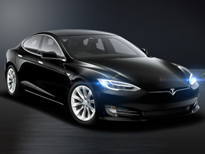 -Tesla, premium Electric Sedan