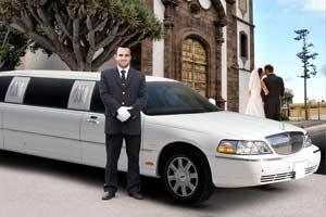 limusina conductor boda
